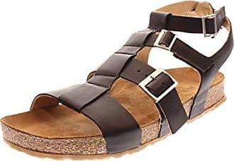 Haflinger Damen Sandale//Sandalette Bio Mara schwarz 819055