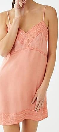Forever 21 Forever 21 Lace-Trim Slip Nightdress Coral