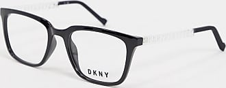 DKNY In Motion square glasses with demo lens-Black