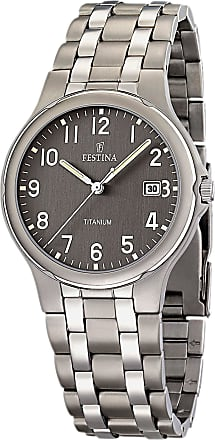 Festina Watch for Men, Titanium, Stainless Steel, 2017, One Size