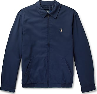 Polo Ralph Lauren Twill Blouson Jacket - Navy