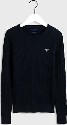 GANT Zopfmuster Crew-Neck Pullover