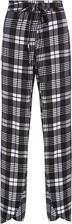 MOB Calça Pantalona Estampada MOB - Preto