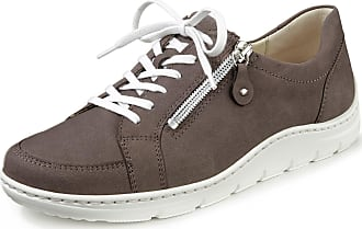 Waldläufer Sneakers Hassi in nubuck cowhide Waldläufer brown