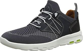 Rockport Mens Lets Walk mesh Bungee Trainers, Blue (Navy 003), 8.5 (42.5 EU)