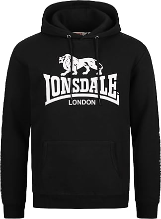 Lonsdale YAPTON - Black - XXX-Large