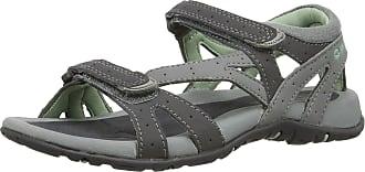 Hi-Tec Womens Galicia Strap Sandals - Cool Grey/Charcoal/Lichen, 4 UK