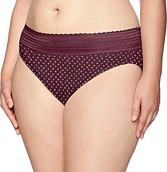 382e527a8 Warner s Womens Plus Size No No Pinching No Problems Lace Hi Cut Brief Panty  Fractured Diamond