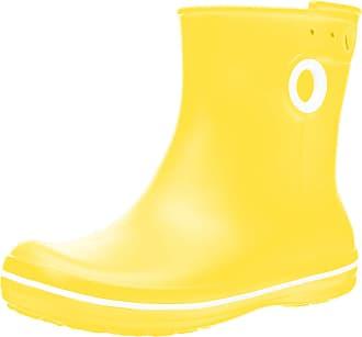Crocs Womens Jaunt Shorty Boot, Yellow (Lemon), 3 UK 34/35 EU