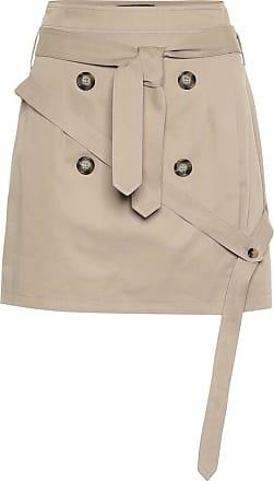Rokh Cotton-twill miniskirt