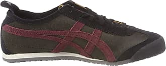 Onitsuka Tiger Mens Mexico 66 1183a051-251 Low-Top Sneakers, Black, 12 UK