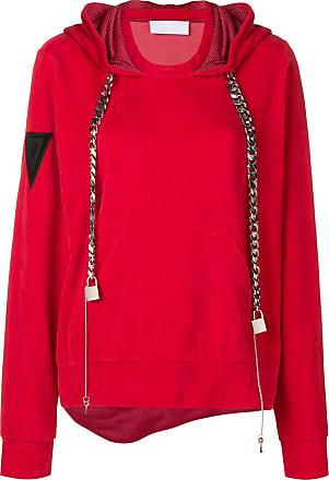 No Ka'Oi chain drawstring hoodie - Red