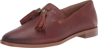 Franco Sarto Womens Hadden Loafer, Dark Orange, 5.5 UK