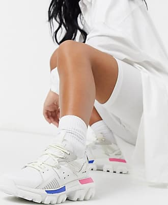 CAT CAT Raider Sport chunky trainers in white mix