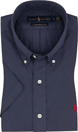 Polo Ralph Lauren Freizeithemd, kurzarm, mit Natural Stretch, Custom Fit von Polo Ralph Lauren in Marine für Herren