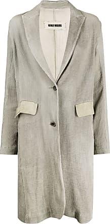 Uma Wang singled breasted coat - Grey