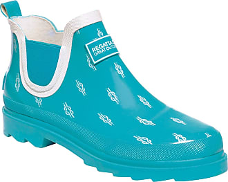 Regatta Womens Lady Harper Welly Wellington Boots, Blue (Azure/White 9vb), 3 UK (36 EU)