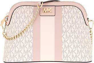 Michael Kors Cross Body Bags - Mott Crossbody Bag Vanilla/Softpink - white - Cross Body Bags for ladies