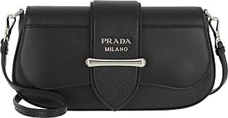 Prada Cross Body Bags - Sidonie Crossbody Bag Leather Black - black - Cross Body Bags for ladies