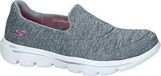 7bb8cd480967 Skechers Grijze Slip-on Sneakers Skechers Go Walk Evolution