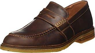 c189969ecba8fa Clarks Herren Clarkdale Flow Slipper Braun (Mahogany Leather) 44 EU