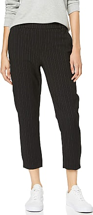 Only Womens Onlglowing Mid Ankle Pant Do PNT Trouser, Multicolour (Black Stripes: Pinstripe), 38/L32 (Size: Medium)
