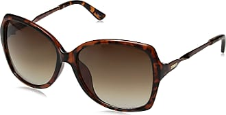 Jessica Simpson Womens J5716 Ts Non-Polarized Iridium Round Sunglasses, Tortoise, 70 mm