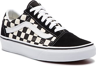 Vans Zapatillas de tenis VANS - Old Skool VN0A38G1P0S1 (Primary Check)  Blk White b27843d724f
