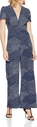 Glamorous Womens CK5071 Jumpsuit, Multicolour (Navy Placement Spots Br), 8 (Size: X-Small)