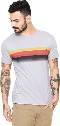 Reef Camiseta Reef Stripes Sunset Cinza