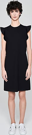 Escada Sport Jersey Ruffle Trim Dress