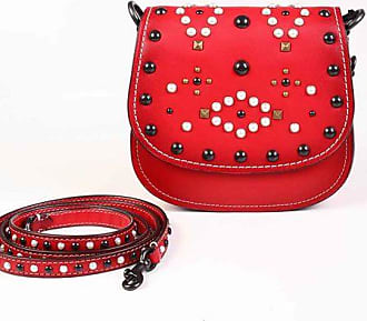 Coach Studded Leather Saddle Bag size Unica
