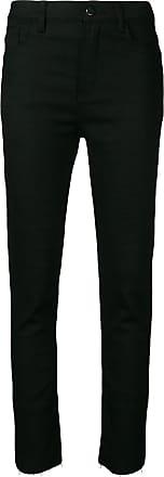 Jovonna London Calça jeans skinny cintura média - Preto