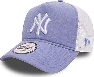 New Era New York Yankees Oxford A Frame Trucker Cap - Sky Blue