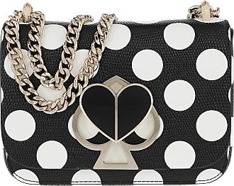 Kate Spade New York Nicola Embossed Small Convertible Chain Shoulder Bag Black Multi Umhängetasche schwarz