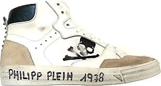 Philipp Plein Mens Shoes Sneakers Boots S19SMSC1703PLE009N White White Size: 9.5 UK