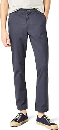 Selected Mens Straight Trousers, Bleu (Navy Blazer), 34W x 34L