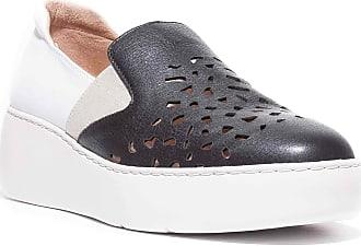 Wonders A-8324 Slip-On Sneaker Black Size: 8 UK