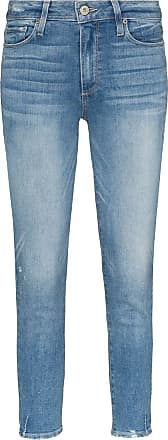 Paige Hoxton mid-rise skinny jeans - Azul