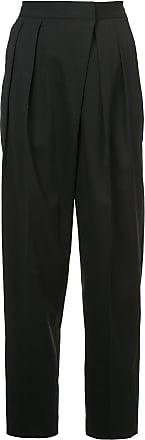 Juun.J high rise trousers - Preto