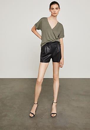 BCBGeneration Symon Faux-Leather Short