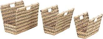 UMA Enterprises Inc. Deco 79 99873 Basket, Brown