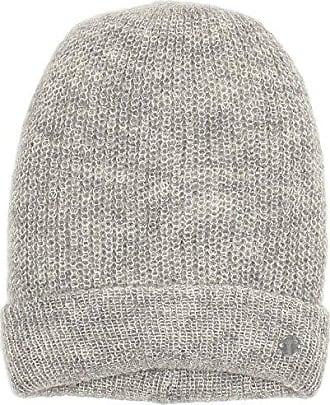 Tom Tailor Damen Strickmütze Hairy Knit Beanie Silber (Silver Melange 2527)  One Size 8b2a8db0f6e6