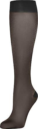 Wolford Womens Pure Energy 30 leg vitalizer 30 den black L