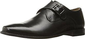 Florsheim Mens Montinaro Single Monk Dress Shoe Slip On, Black, 11 D US