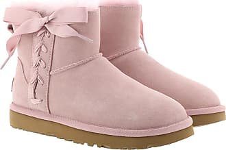 UGG Boots & Booties - W Classic Lace Mini Pink Crystal - rose - Boots & Booties for ladies