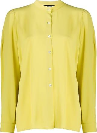 Department 5 Camisa mangas longas com gola padre - Amarelo