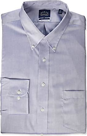 4a45005132e880 Eagle Mens FIT Dress Shirts Non Iron Stretch Collar Solid (Big and Tall),