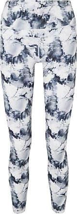 Varley Biona Printed Stretch Leggings - White
