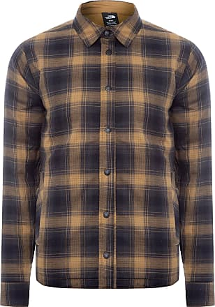 The North Face JAQUETA MASCULINA FORT POINT INSULATED FLANNEL - MARROM
